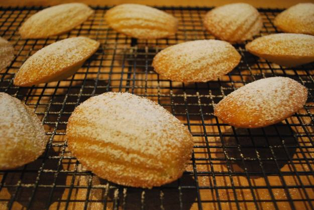 Madeleines French Lemon Zest
