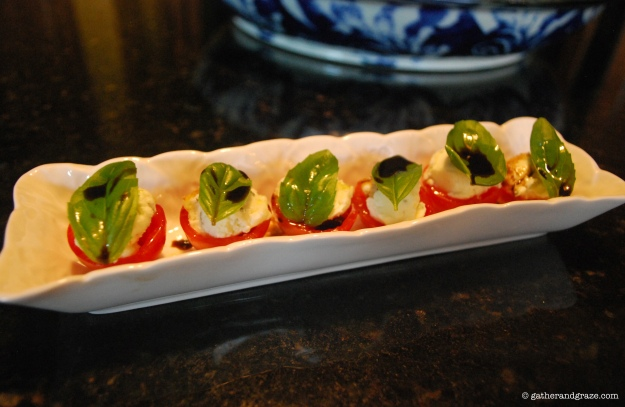 Tomato Basil Boursin Appetisers Gather and Graze