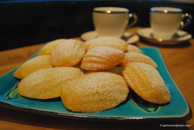 Lime Madeleines, Gather and Graze