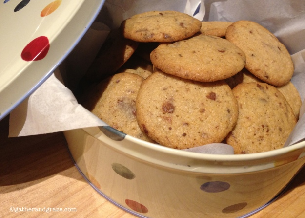 Spiced Chocolate Chip Cookies Gather and Graze
