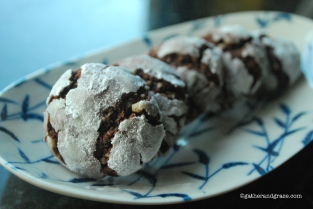 chocolate crackle cookies Alice Waters