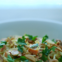 Smoked Trout Linguine