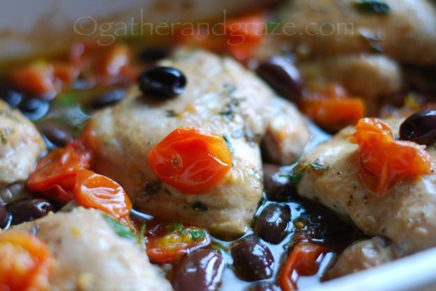 Oven-Baked Italian Chicken