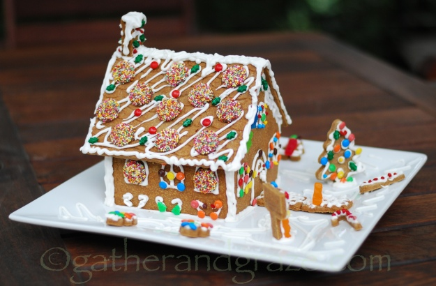 Gingerbread House, Gather and Graze