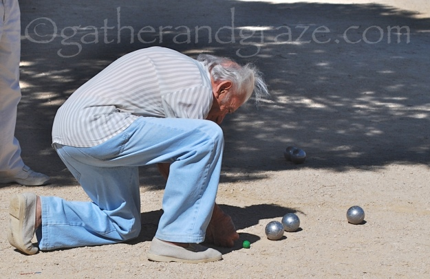 Petanque, France, Gather and Graze