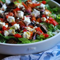 Roasted Vegetable Salad, Gather and Graze
