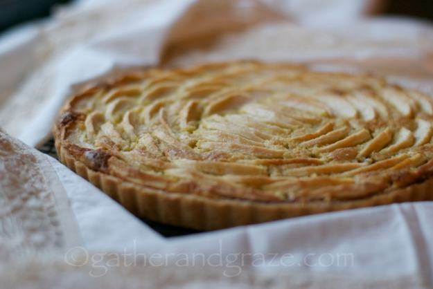 French Apple Frangipane Tart | Gather and Graze