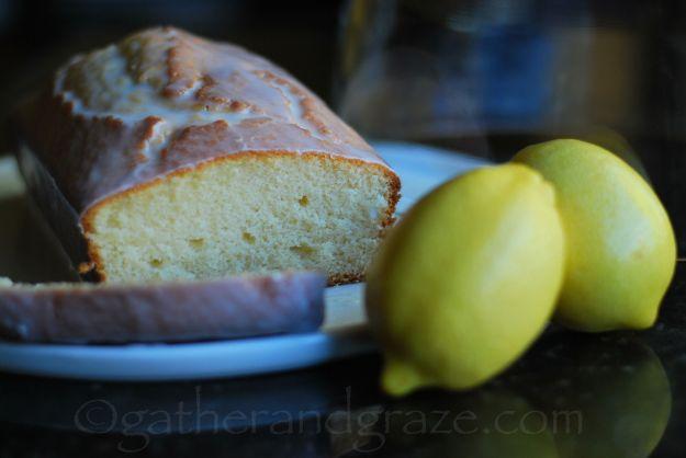 Iced Lemon Pound Cake | Gather and Graze