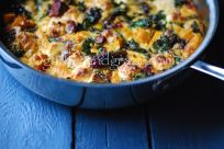 Pumpkin, Chorizo & Kale Frittata | Gather and Graze