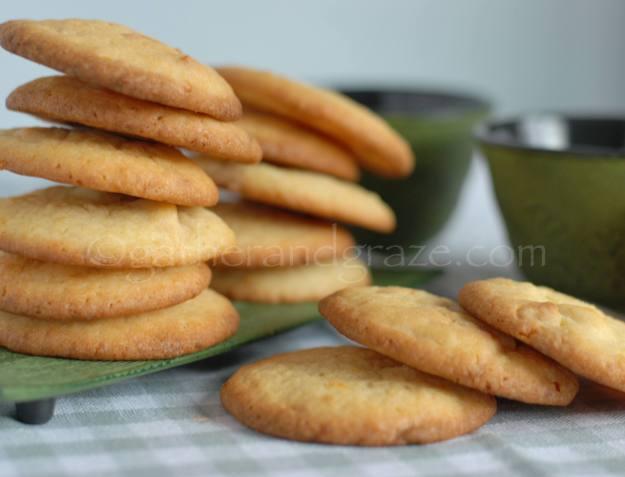 Lemon White Chocolate Cookies | Gather and Graze