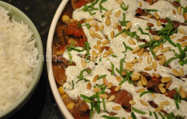 Fatteh Bil Lahme (Lamb Shanks with Chickpeas and Yoghurt) | Gather and Graze