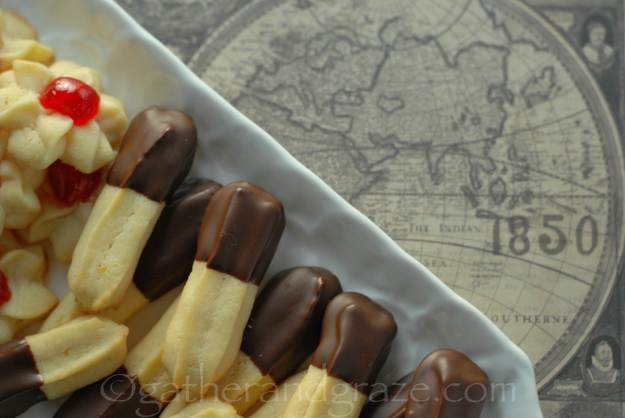 Viennese Biscuits / Cookies | Recipe | Gather and Graze