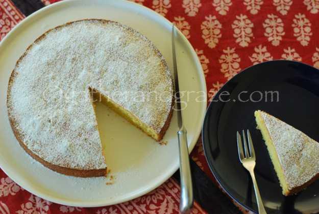 Amandeltaart (Belgian Almond Cake) | gatherandgraze.com