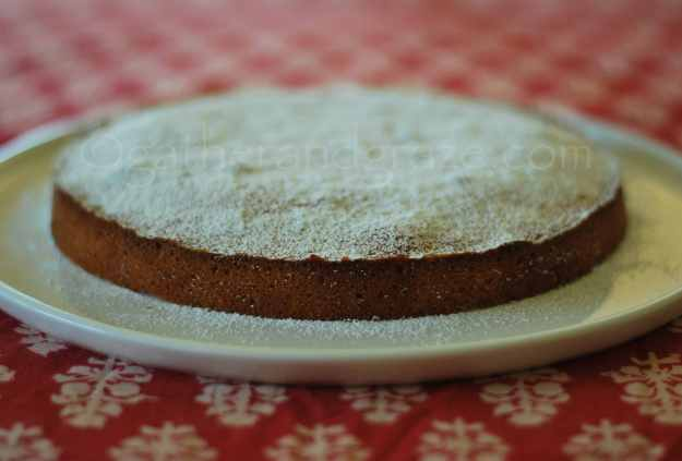 Amandeltaart (Belgian Almond Cake) | Recipe | Gather and Graze