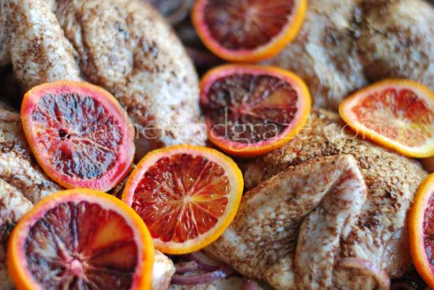 Roast Chicken with Sumac, Za'atar and Blood Orange à la Ottolenghi | gatherandgraze.com
