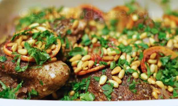 Roast Chicken with Sumac, Za'atar and Blood Orange à la Ottolenghi/Tamini