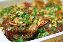 Roast Chicken with Sumac, Za'atar and Blood Orange à la Ottolenghi/Taminin | gatherandgraze.com