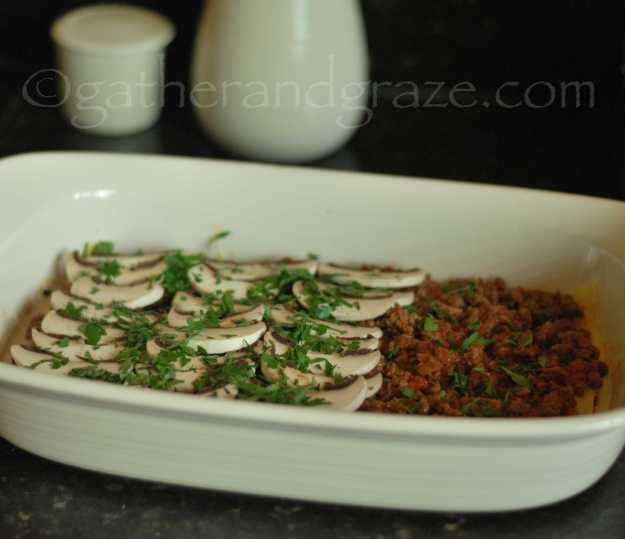 Beef and Mushroom Lasagne   Gather and Graze