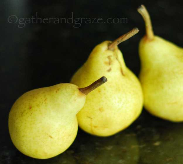 Pears | Gather and Graze