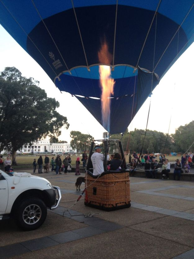 Canberra Balloon Spectacular 2015 | Gather and Graze