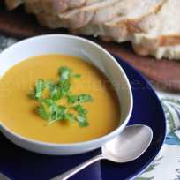 Fragrant Butternut Pumpkin Soup | Gather and Graze