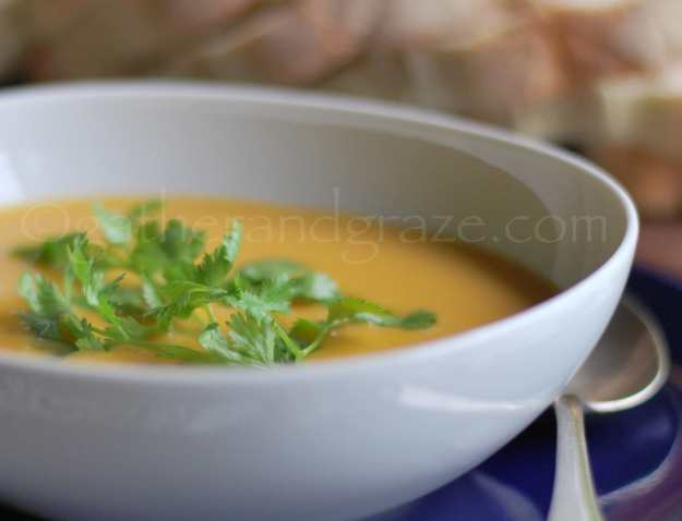 Fragrant Butternut Pumpkin Soup | Recipe | Gather and Graze