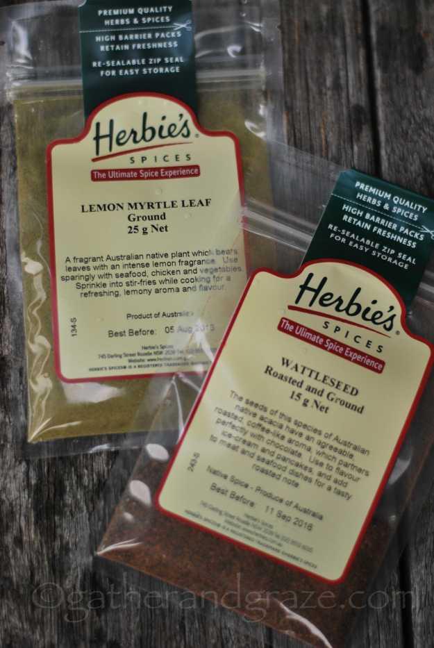 Herbie's Lemon Myrtle + Wattleseed | Australian Apple Crumble | Recipe | Gather and Graze