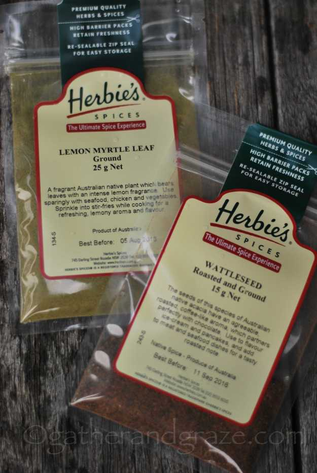 Herbie's Lemon Myrtle + Wattleseed | Australian Apple Crumble | Recipe | Gather and Graze