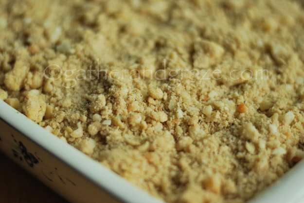 Australian Apple Crumble with Lemon Myrtle and Wattleseeds | Recipe | Gather and Graze
