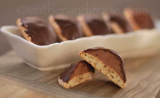 Sarah Bernhardt Cookies | Recipe | Gather and Graze