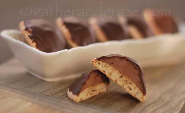 Sarah Bernhardt Cookies | Recipe | Gather and Graze