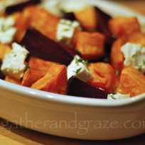 Beetroot, Sweet Potato & Feta | Gather and Graze