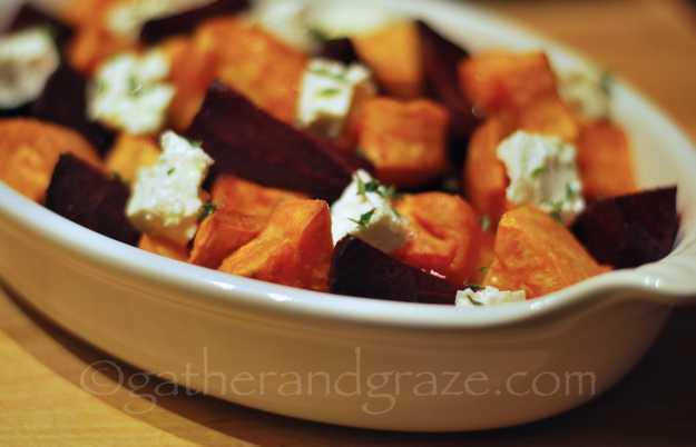 Beetroot, Sweet Potato & Feta | Gather and Graze