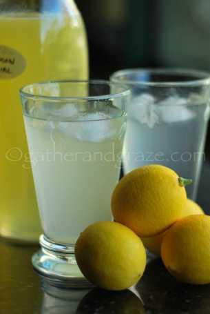 Meyer Lemon Cordial | Gather and Graze