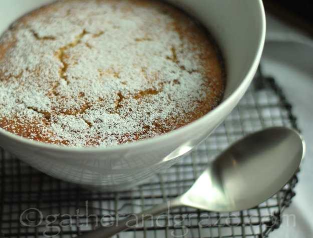 Sticky Lemon Pudding   Gather and Graze