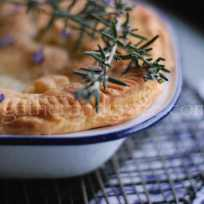 Beef, Rosemary and Red Wine Pie with Rough Puff Pastry Recipe | Gather and Graze