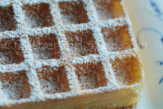 Classic Waffles | Gather and Graze