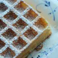 Classic Waffle Batter Recipe | Gather and Graze