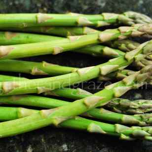 Asparagus Spears for Smoked Salmon Salad   Gather and Graze   for The Dinner Party Collective