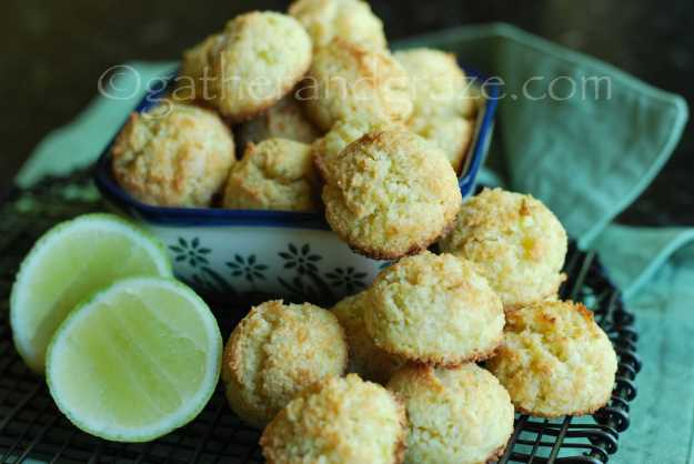 Lime Coconut Macadamia Macaroons | Recipe | Gather and Graze