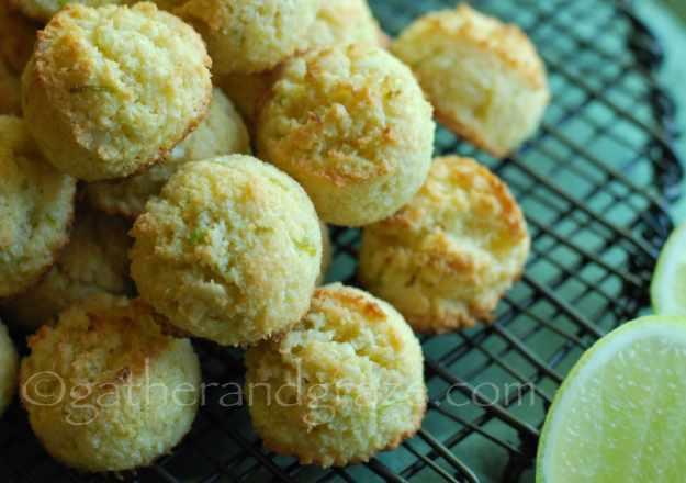 Lime Coconut Macadamia Macaroons | Recipe | Gather and Graze