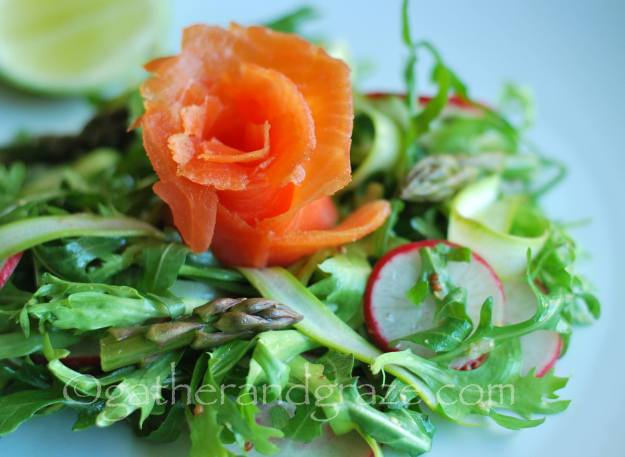 Smoked Salmon Salad | Gather and Graze | for The Dinner Party Collective