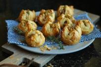Leek, Mushroom & Gruyère Pastries | Gather and Graze