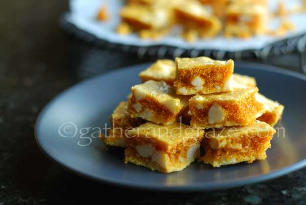 Macadamia Nut Honeycomb | Gather and Graze