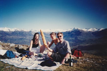 Picnic | Col de Gleize, France | Gather and Graze