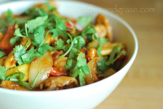 Satay Chilli Chicken | Gather and Graze