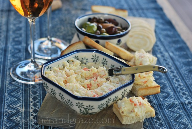 Potted Prawn Dip | Gather and Graze