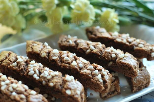 Swedish Chocolate Biscuits / Martas Skurna Chokladkakor | Gather and Graze