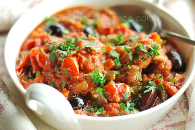 Chicken Cacciatore | Gather and Graze