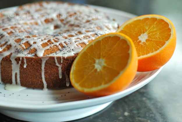 Orange Poppyseed Quatre-Quarts Cake | Gather and Graze